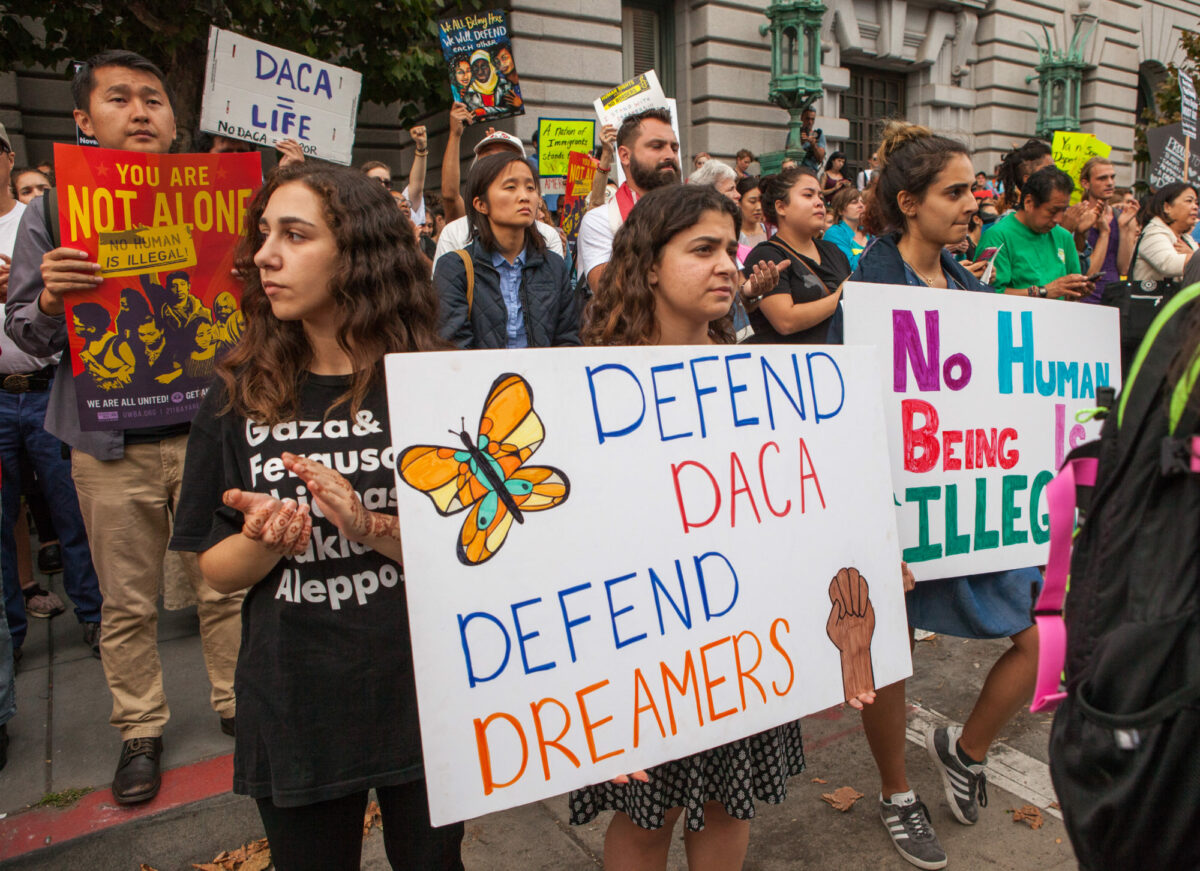 DACA Protest for Dreamers