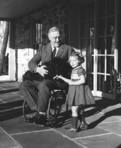 FDR with little girl