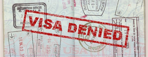 Visa Denied Stamp