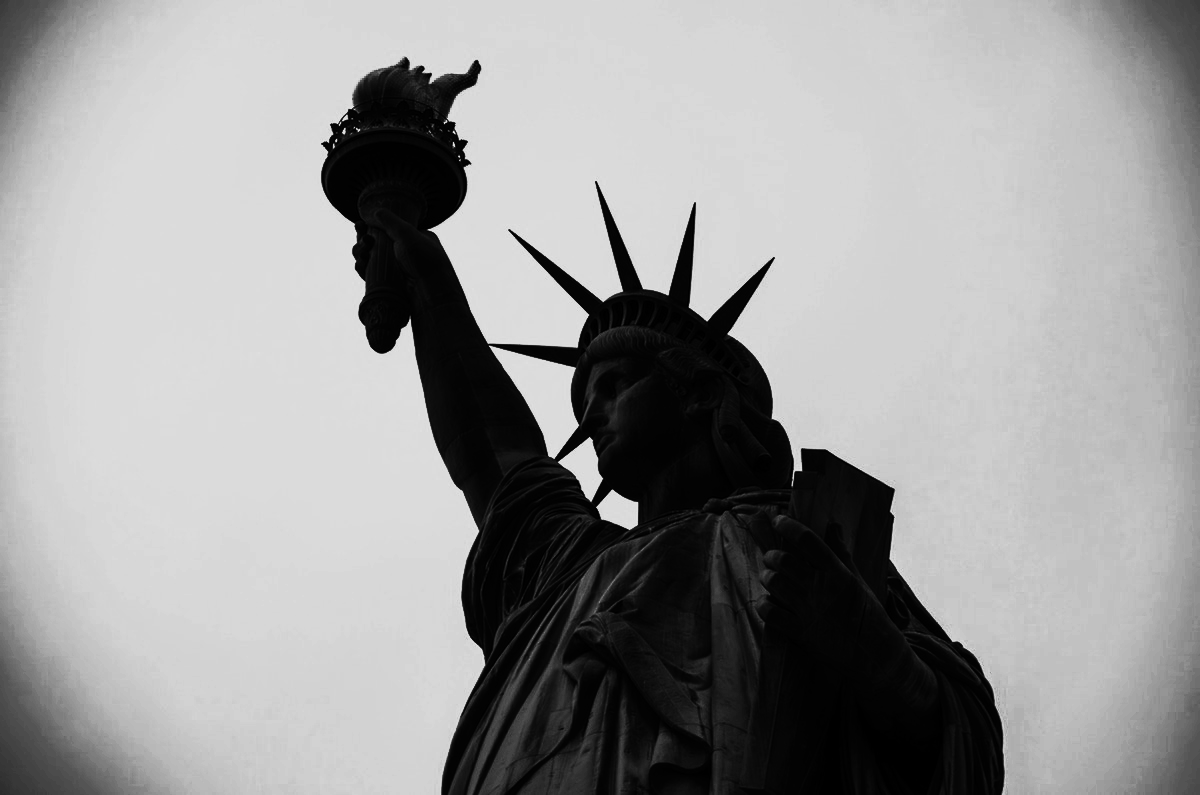 Dark Statue of Liberty