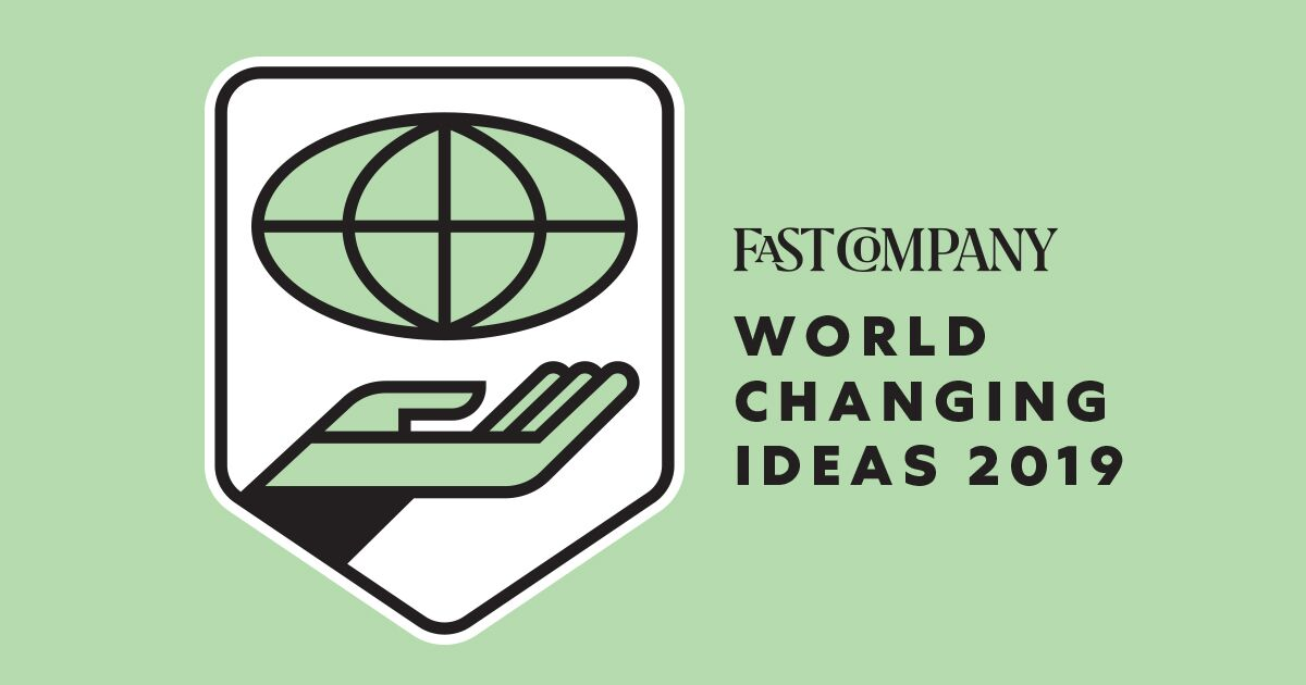 Boundless is a Finalist for Fast Company's World Changing