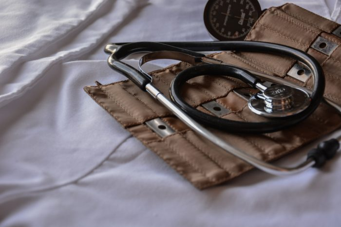 A doctor's stethoscope.