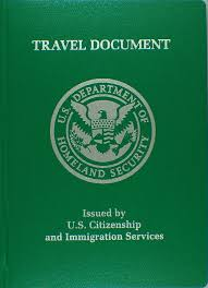 Re Entry Travel doc Issued by USCIS