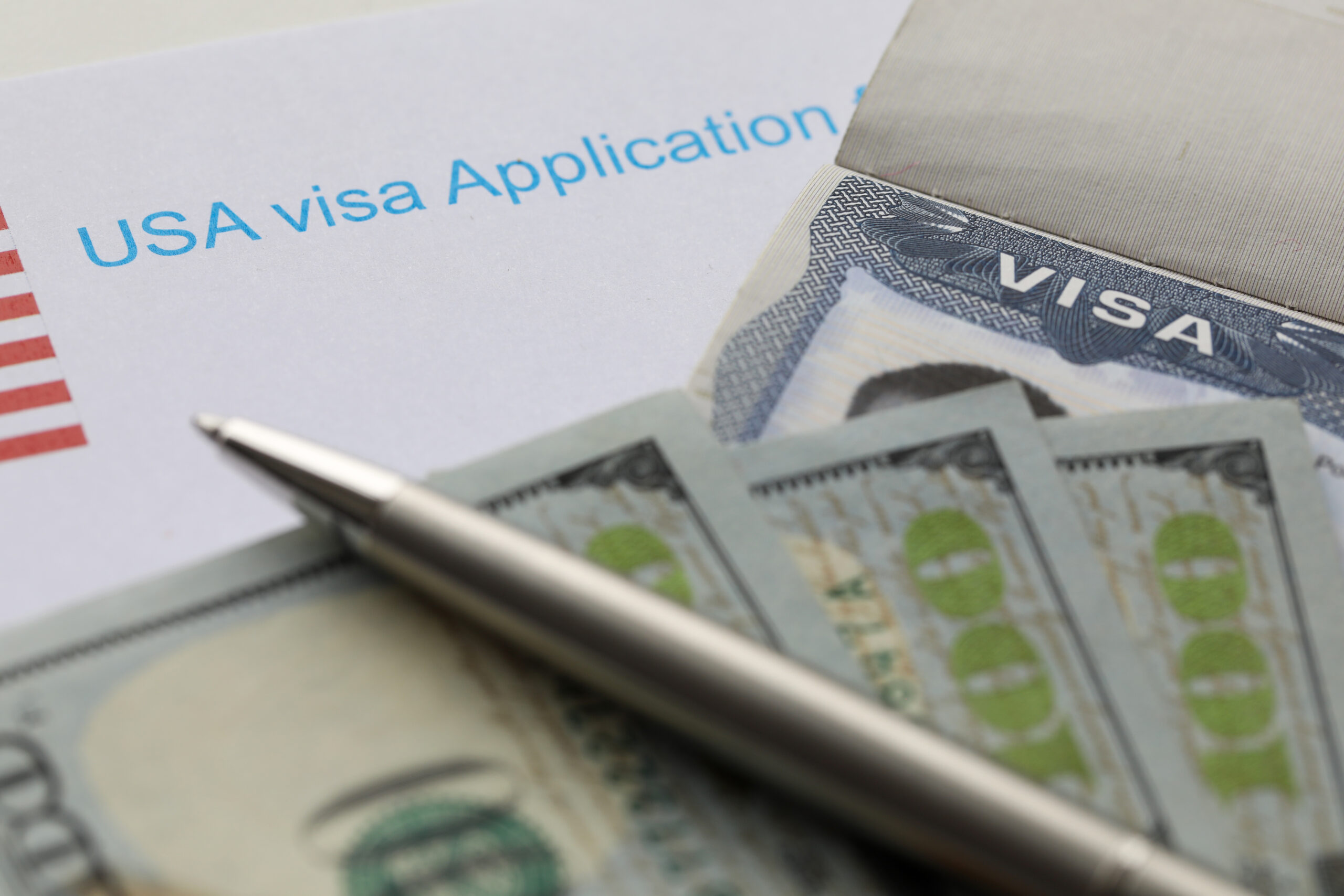USA Visa Application and Money