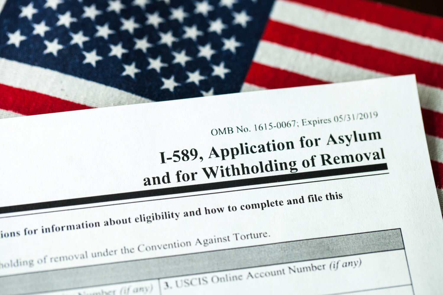 U.S. application for asylum