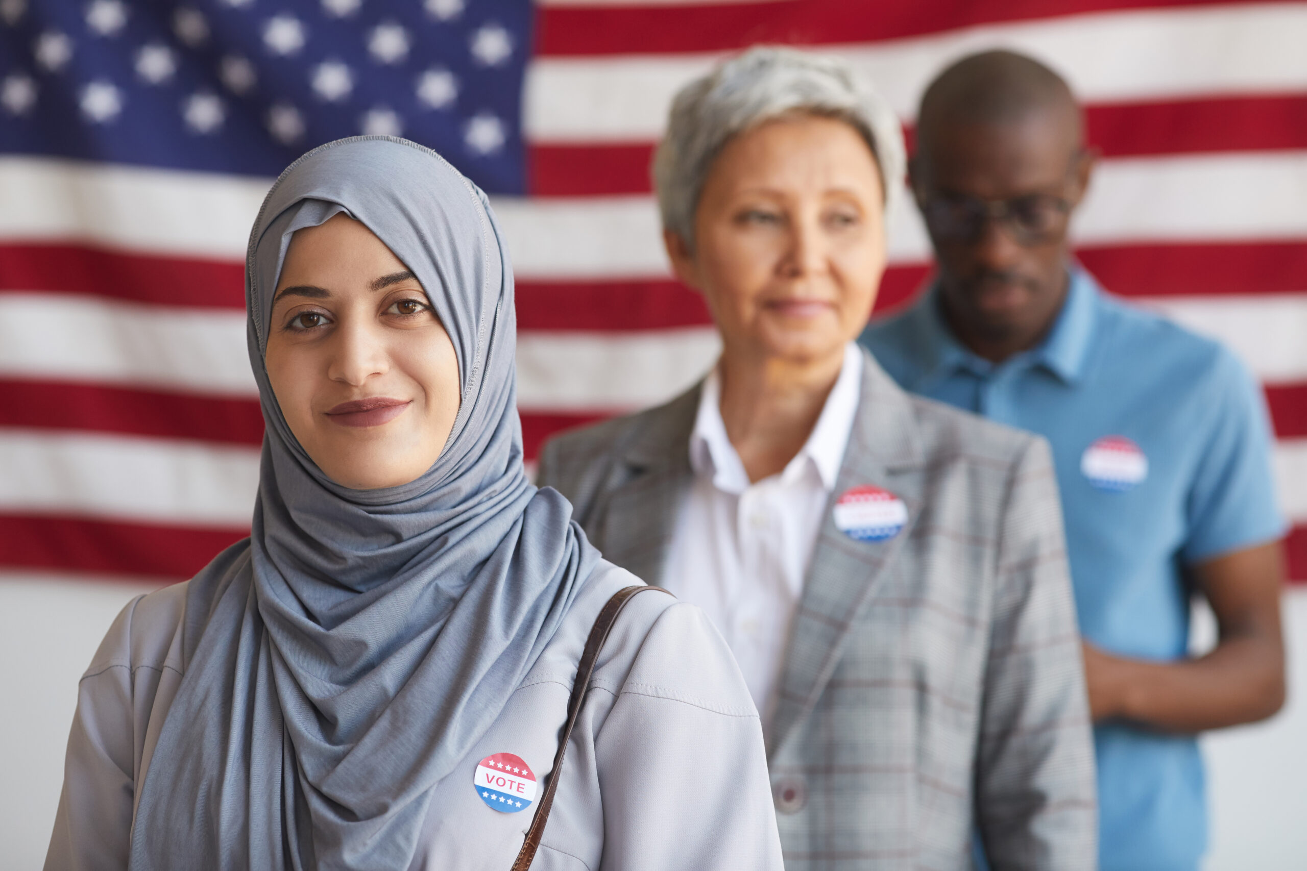 Immigrants voting in the 2020 election