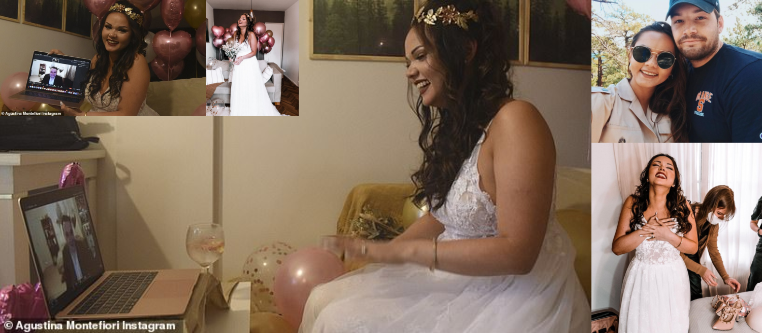 Couple get married over Zoom