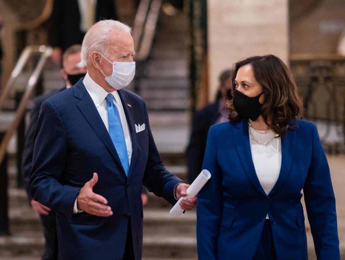Biden and Harris discuss immigration