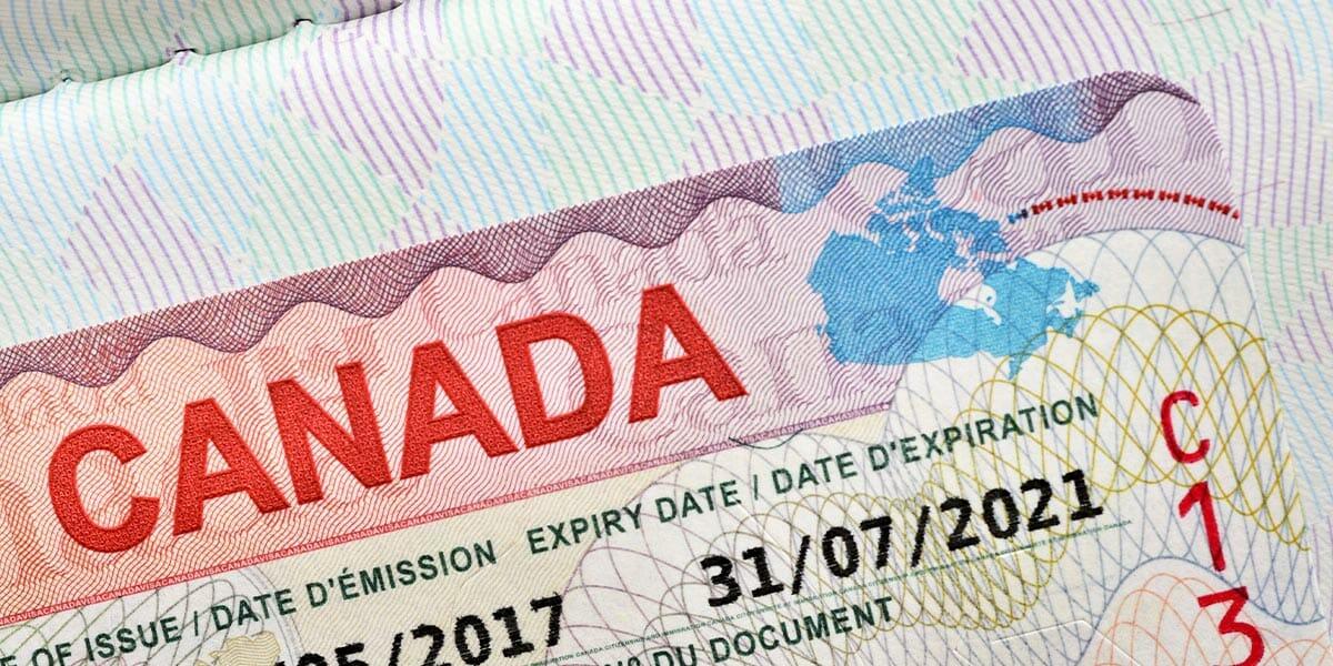 A Canadian ID card