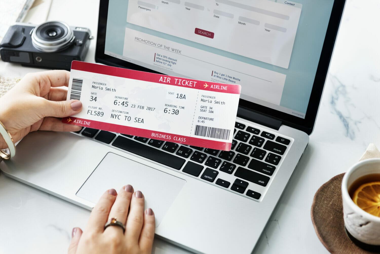 a K-1 visa applicant holding an air ticket
