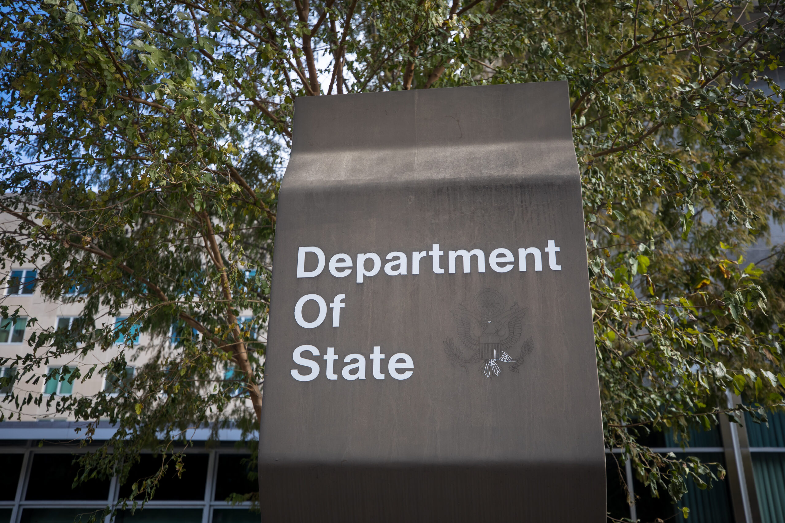 The Department of State building
