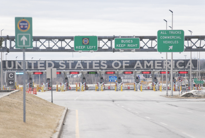 The U.S. Canada land border
